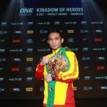 【ONE】バンコク大会のメインでWBC世界スーパーフライ級王者シーサケット・ソー・ルンヴィサイが戦う!!