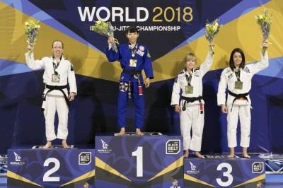 【WJJC2018】女子ルースター級。湯浅麗歌子、かく戦えり──危なげなくムンジアル4連覇を達成