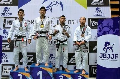 【ALL JAPAN JJC2018】フェザー級はアジア王者・八巻祐が初制覇。大塚博明は3年連続のシルバーに