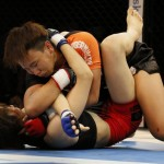 【Pancrase298】華DATEをTKO、切り裂き女子ローマ・ルックブンミー「垂直? ヒジ攻撃は反則じゃない」