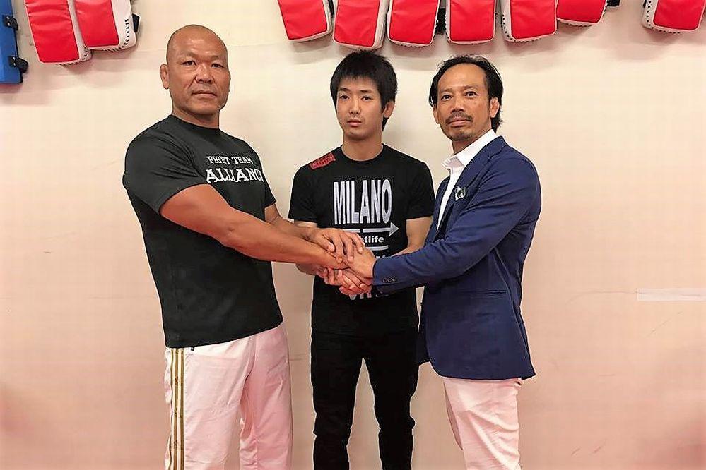 TK, Fujii & Black Panther