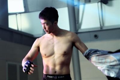 【HEAT43】春日井たけしの挑戦を受けるバンタム級王者キム・ミョンギュ「自分は大韓民国海兵隊出身です」