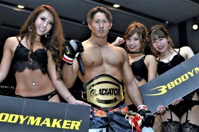 【Gladiator X Demolition02】左ハイ一閃、レッツ豪太がチョモランマ1/2を失神させ防衛成功!!
