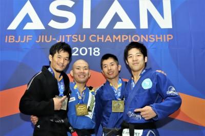 【AJJC2018】ライトフェザー級は圧倒的な強さを見せた嶋田裕太が3連覇