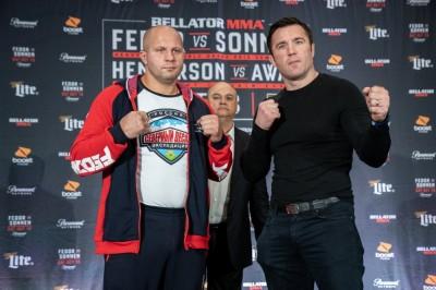 【Bellator208】ヒョードル次第=ソネン戦。元KOPメイン。ヘンゾの27歳年下の弟ホビソンJrがMMA初陣