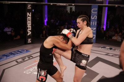【LFA54】試合結果 モゾが女子フライ級王座初防衛。ヒルは回転バック拳で11秒KO勝ち