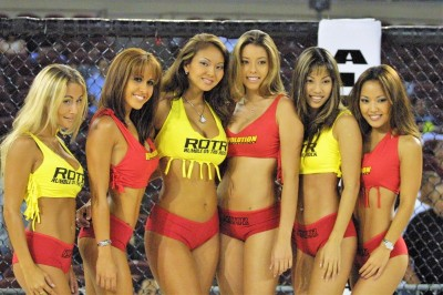 【Monday Ring Girl】Rumble on the Rock 04