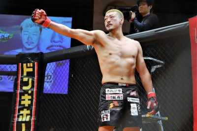【DEEP87】桜井隆多にしっかりと逆転、一本勝ちの水野竜也「日本の大会を大切にしていきたい」