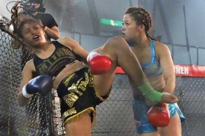 【HEAT44】鈴木万李弥は地元で初MMA=国内2戦目で、AACC所属の柔道ガール本野美樹と対戦