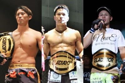 【Gladiator009】日韓対抗戦にレッツ、じゅん、NavEが出場。岸本×ウエタ、石川×長岡のDXFC戦も
