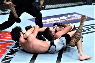 【UFC235】スティーブンスの嵐のような猛攻に対し、剛柔自在のマゴメドシャリポフの対処方法は?