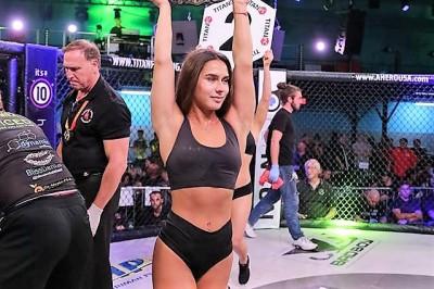 【Monday Ring Girl】Titan FC49「Gomez vs Soares」