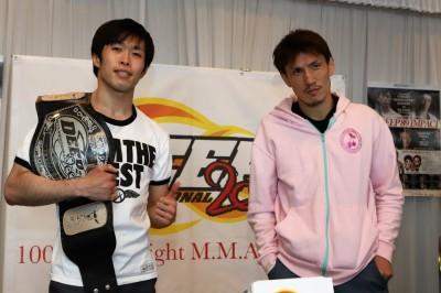 【DEEP89】計量終了 昇侍「明日は本当に大好きな選手にKO勝ちできるように頑張りたい」