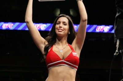 【Monday Ring Girl】UFC82「PRIDE OF A CHAMPION」
