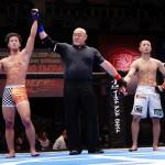【DEEP90】試合結果 神龍誠が暫定フライ級王者に。小見川パイセンは復帰戦祝う一本勝ち