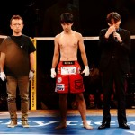 【Pancrase306】無差別級の試合が中止になった瀧澤謙太と酒井代表がケージの中で語ったこと