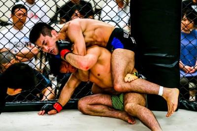 【GFG02】試合結果 青森県五所川原市のご当地MMA=GFGでライダーHIROが電撃参戦&一本勝ち