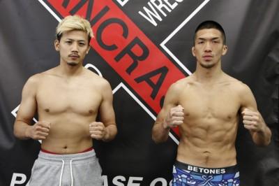 【Pancrase Osaka】計量終了 バンタム級で再起戦の獅庵「三村君はド根性ファイター」