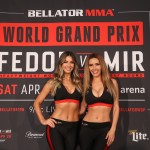 【Monday Ring Girl】Bellator198「Fedor vs Mir」