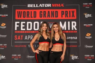 【Monday Ring Girl】Bellator198「Fedor vs Mir」