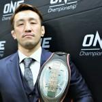 【ONE100】久米鷹介戦へ、修斗世界ライト級王者 松本光史「結果を残して修斗ファンに喜んでもらいたい」