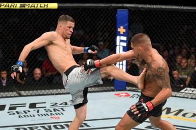 【UFC241】試合結果 ネイト、3年振りの実戦も喧嘩根性に陰り無し。ミオシッチがヘビー級王者に返り咲く