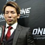 【ONE100】北方大地戦へ、猿田洋祐「マルチで戦える良い選手です。  ただ、勝って当たり前です」