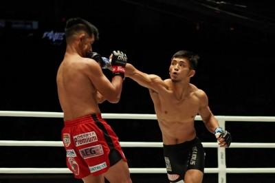 【ONE97】前ONE世界フライ級王者ユースタキオを若松佑弥が右ストレートでKO!!