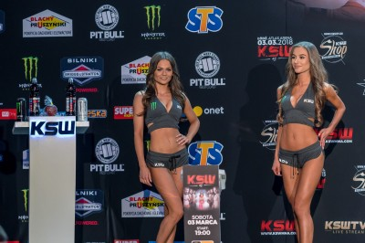 【Monday Ring Girl】KSW42 「Narukun vs Khalidov」