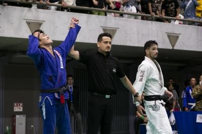 【AJJC2019】ライト級決勝、クレベル・コイケは韓国の伏兵、チョ・ヨンソンに破れる