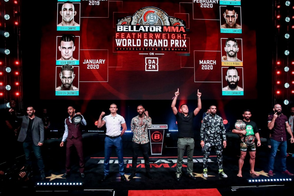 Bellator Feather weight world GP