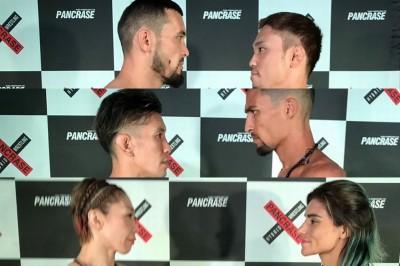 【Pancrase308】計量終了 法DATE✖チョン・ヒョンジは不成立、サントス✖ヤン坊はキャッチウェイト