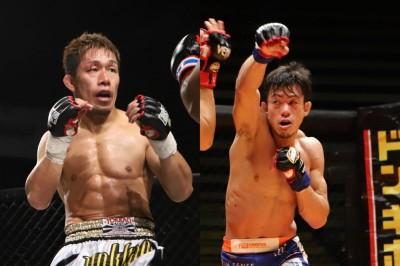 【DEEP92】36歳対決、昇侍✖釜谷真。昇侍の拳の圧力に対し、釜谷の選択は