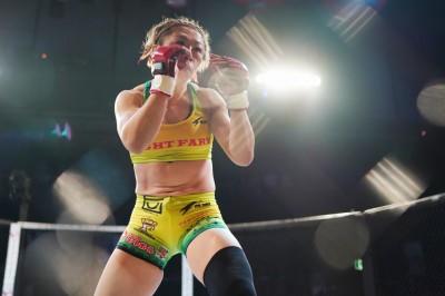 【Pancrase308】エジナ・トラキナスにTKO勝ち、藤野恵実「ちょっと成長の跡を見せることができたかな」