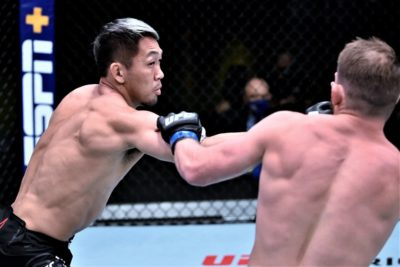 【UFC ESPN12】試合結果 佐藤天、心身ともに成長の跡を見せ、UFCで2勝目。ポイエーは消耗戦制す