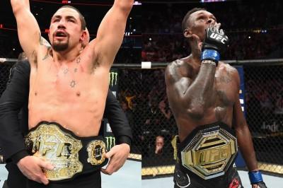 【UFC243】4年振りの豪州スタジアムショー、ミドル級王座統一戦。ウィティカー✖アデサニャ=打の違い