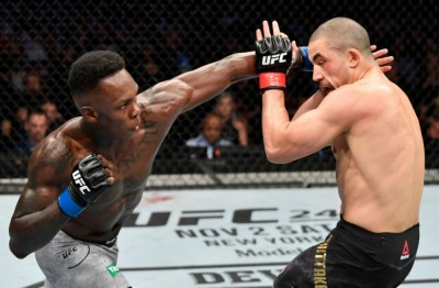 【UFC243】試合結果 イスラエル・アデサニャがロバート・ウィティカーをKOしミドル級統一王者に