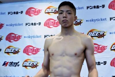 【DEEP92】DEEP初陣=石司晃一戦へ、米山千隼「戦うことができる相手のなかで、一番強い選手を選ぶ」