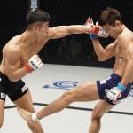 【Road FC56】本戦勝利でおかしくなかったキム・ミンウが延長Rでジャン・イクファンを下し王座防衛