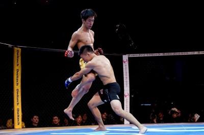 【Pancrase310】修斗世界2位の石井を跳びヒザで完全KOした瀧澤「強いヤツをどんどん倒す」