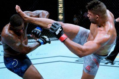 【UFC ESPN08】試合結果 コロナの時代のUFC3連戦、トリでアリスターがハリスに勝利