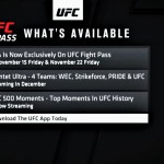 【UFC】ファイパスでQuintet Ultra=WEC、Strikeforce、PRIDE &UFCの配信決定。そしてLFAも