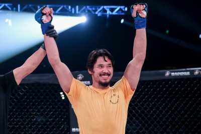 【Bellator Japan】クルックシャンク戦へ、寝技ドラゴン=ゴイチ・ヤマウチ─01─「日本人を代表して戦う」