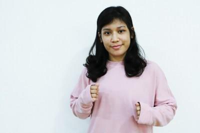 【ONE105】マレーシア女子MMAを引っ張る影猫ジヒン・ラズワン「シャイ過ぎて対戦相手しか……」