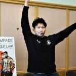 【Bellator237】ロレンツ・ラーキンと対戦する中村K太郎「ファンに受ける? 解説があったら面白い打撃」
