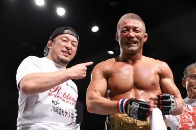 【Grachan42 X Gladiator011】ストップ直前、腕十字でダリから一本勝ち。桜井隆多が48歳の王座戴冠