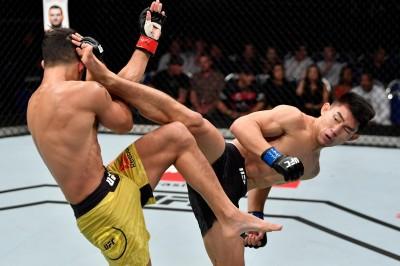 【UFC ESPN07】なるか、オクタゴン5連勝。中国MMAパワーの象徴ソン・ヤードン「100%、殴り勝つ!!」