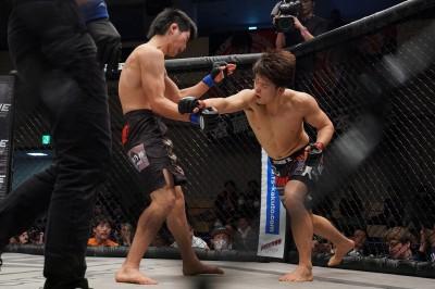 【Shooto2020#01】藤井伸樹に競り勝った田丸匠──摩訶不思議MMA。「逃げているといえば、逃げている」