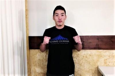 【LFA81】MMA界のNCAA日本人選手第一号=堀内佑馬、レアンドロ・ゴミス戦へ「1日も無駄にできない」