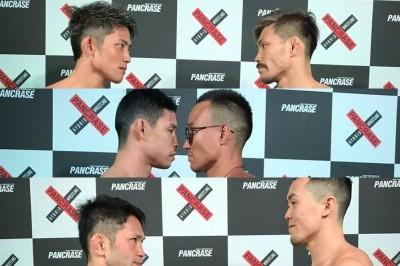 【Pancrase312】計量終了 堀江✖内村、中島✖フェドロフ、福島✖ファンら48選手、全員クリア